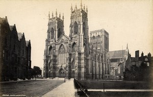 United Kingdom York Minster & Ripon Minster 2 Old Photos Francis Frith 1870