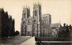United Kingdom York Minster & Ripon Minster 2 Old Photos Francis Frith 1870