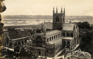 United Kingdom Westminster Abbey & Rochester Cathedral 2 Old Photos Frith 1870