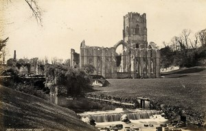 United Kingdom Llandaff & Fountains Abbey 2 Old Photos Francis Frith 1870