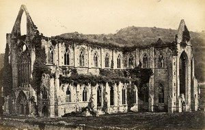 United Kingdom Tintern Abbey ruins 2 Old Photos Francis Frith 1870