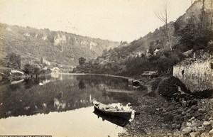 United Kingdom Chepstow Castle & Symonds Yat Monmouth 2 Old Photos Frith 1870