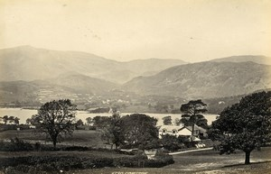 United Kingdom Bath Abbey & Coniston Cumbria 2 Old Photos Francis Frith 1870