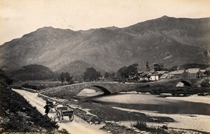 United Kingdom Grange Borrowdale Crummock Water Cumbria 2 Old Photos Frith 1870