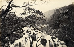 United Kingdom Buttermere & Swallow Falls Betws-y-Coed 2 Old Photos Frith 1870