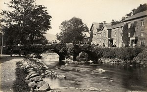 United Kingdom Conwy & Beddgelert Village Wales 2 Old Photos Francis Frith 1870