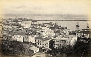 Algeria Algiers Belgium Brussels Stock Exchange 2 Old Photos Francis Frith 1870