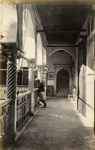 Algeria Algiers Mosque & Arab House Alger 2 Old Photos Francis Frith 1870