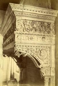 Italy Venice Venezia Chimney Ducal Palace Museo Cammino Old Photo 1890