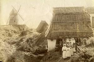 Portugal Azores Sao Miguel Ponta Delgada Suburb Feiteiras Old Photo Raposo 1890