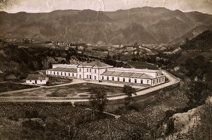 Portugal Azores Sao Miguel Furnas Thermal Baths Old Photo Raposo 1890