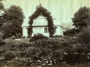 Portugal Azores Sao Miguel Villa Viscount Faria Maia Old Photo Raposo 1890