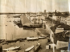 Portugal Azores Sao Miguel Ponta Delgada Bordwalk Seaside Old Photo Raposo 1890