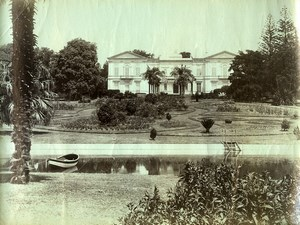 Portugal Azores Sao Miguel Marques Jacome Corriea Palace Old Photo Raposo 1890
