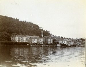 Italy Lake Como Bellagio Basilica di San Giacomo Old Amateur Photo 1910