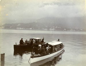 Italy Lake Como Bellagio region Alpine Tour Old Amateur Photo 1910