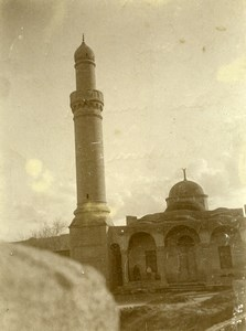 Syria Djezireh Deir Ez Zor French Militairy Mandate Mosque Amateur Photo 1929