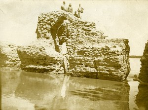 Syria Djezireh Al-Hasakah French Militairy Mandate Ruins Old Amateur Photo 1929