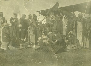 Syria Al-Hasakah French Militairy Mandate Potez Aviation Amateur Photo 1929