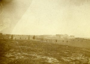 Syria Djezireh Al-Hasakah French Militairy Mandate Panorama Amateur Photo 1929