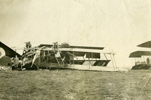 Syria Al-Hasakah French Militairy Mandate Airplane Crash Old Amateur Photo 1929