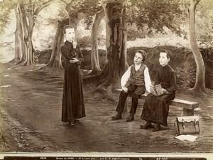 France Painting Fair 1903 Il ne sait pas by d'Entraygues Old Photo 1900
