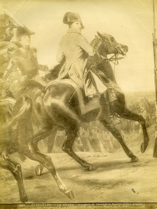 France Painting Versailles Iena Battle Napoleon by Horace Vernet Old Photo 1900