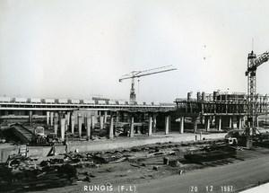 France Rungis International Market Construction Old Photo Lepicier 1967 SK6