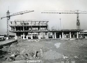 France Rungis International Market Construction Old Photo Lepicier 1967 SK1