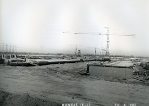 France Rungis International Market Construction Old Photo Lepicier 1967 PJ2