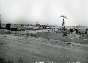 France Rungis International Market Construction Old Photo Lepicier 1967 PJ9