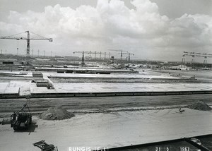 France Rungis International Market Construction Old Photo Lepicier 1967 OS6