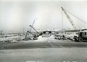 France Rungis International Market Construction Old Photo Lepicier 1967 OD2