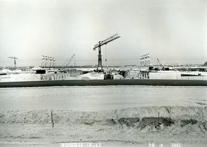 France Rungis International Market Construction Old Photo Lepicier 1967 OD11