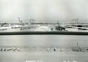 France Rungis International Market Construction Old Photo Lepicier 1967 OD12