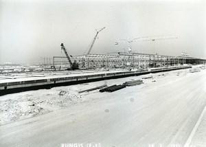 France Rungis International Market Construction Old Photo Lepicier 1967 OD3