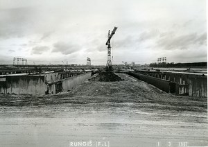 France Rungis International Market Construction Old Photo Lepicier 1967 MX2