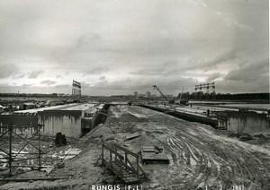France Rungis International Market Construction Old Photo Lepicier 1967 MX4
