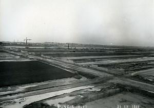 France Rungis International Market Construction Old Photo Lepicier 1966 MH10