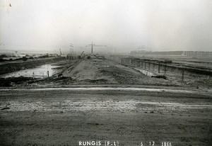 France Rungis International Market Construction Old Photo Lepicier 1966 LX5