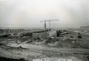 France Rungis International Market Construction Old Photo Lepicier 1966 LX7