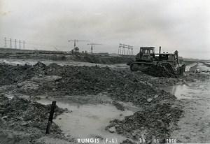 France Rungis International Market Construction Old Photo Lepicier 1966 LU1