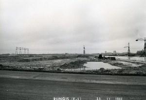 France Rungis International Market Construction Old Photo Lepicier 1966 LU3
