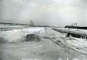 France Rungis International Market Construction Old Photo Lepicier 1966 KO5