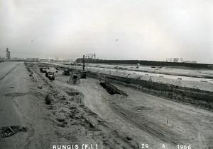 France Rungis International Market Construction Old Photo Lepicier 1966 KO3