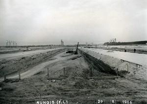 France Rungis International Market Construction Old Photo Lepicier 1966 KO2