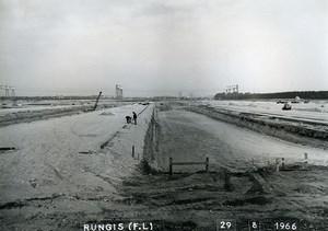 France Rungis International Market Construction Old Photo Lepicier 1966 KO1