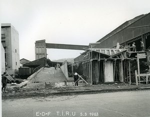 France Issy les Moulineaux EDF TIRU Construction Old Photo Lepicier 1963 B11
