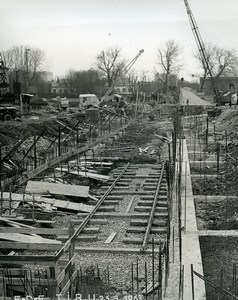 France Issy les Moulineaux EDF TIRU Construction Old Photo Lepicier 1963 C6