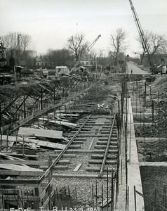 France Issy les Moulineaux EDF TIRU Construction Old Photo Lepicier 1963 C6